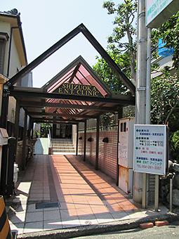 静岡ENTクリニック 駐輪場